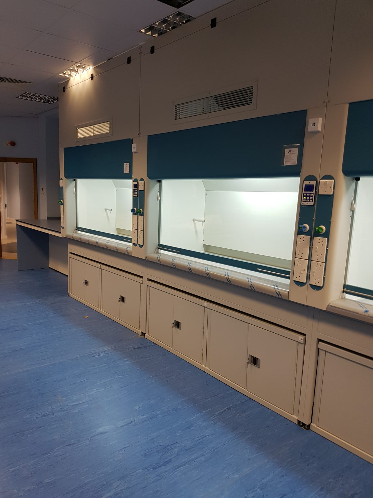 Fume Cupboards and Associated Extract systems – Swansea