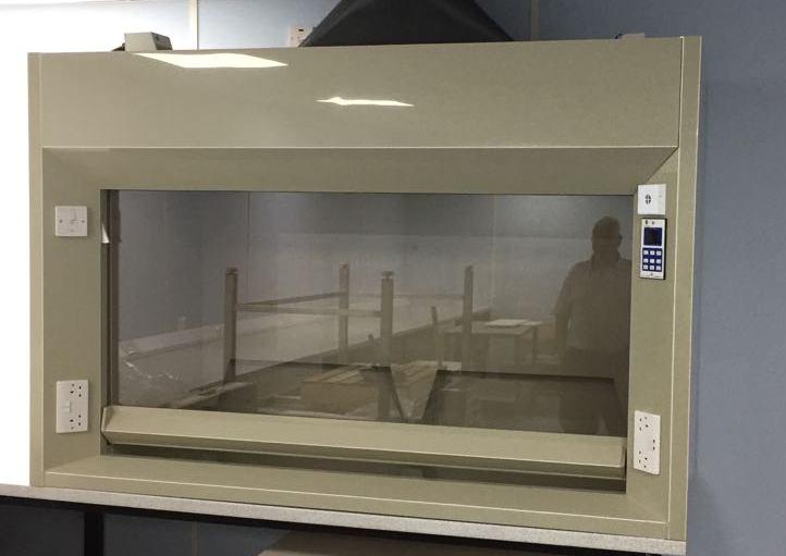 New Polypropylene Fume Cupboard