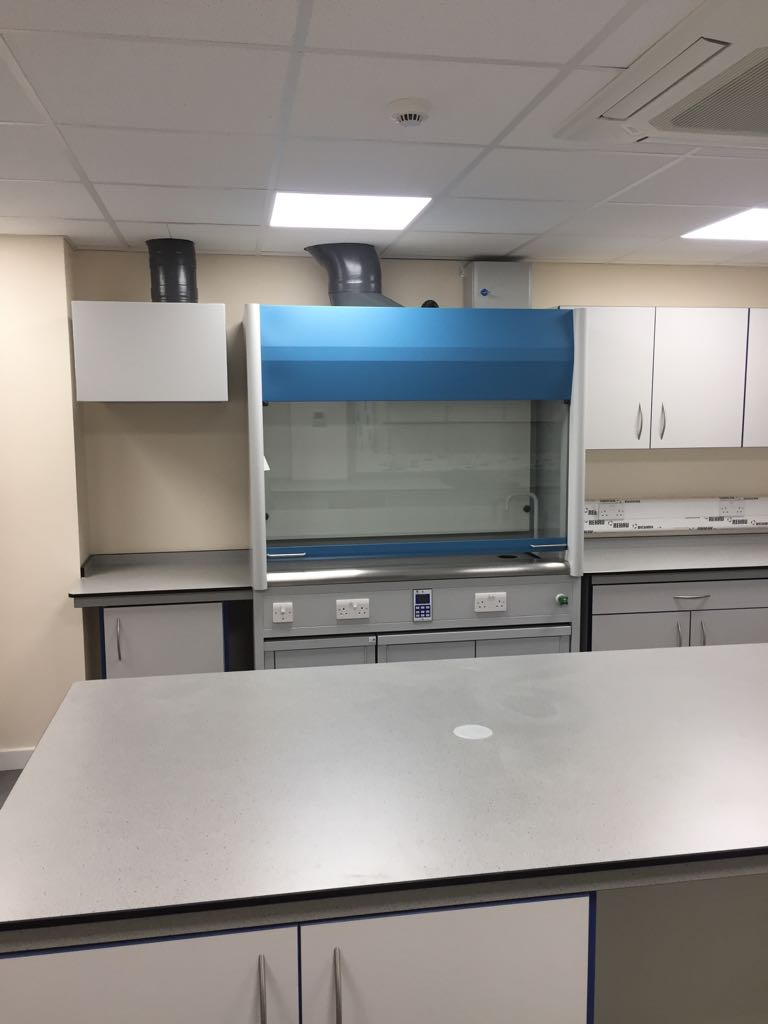 New Laboratory Fit-Out