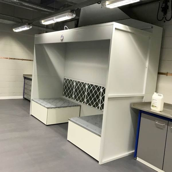 Powder Booth Units